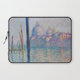 Le Grand Canal by Claude Monet Laptop Sleeve