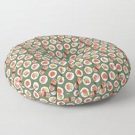 Sushi set Floor Pillow