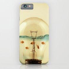 gold fish globe iPhone 6s Slim Case