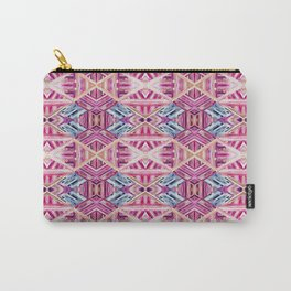 LINEA 019 Abstract Collage Carry-All Pouch