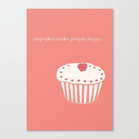 Cupcakes Canvas Print