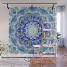 Mandala element air Wall Mural