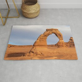 Delicate Arch 0422 -Arches National Park, Moab, Utah Rug