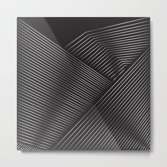Layer Upon Layer Metal Print