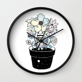 Live Your Life (It's Way Too Short) Wall Clock