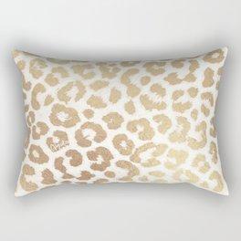 ReaL LeOpard - Greek Ancient Gold Rectangular Pillow