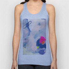 abstract joyful and wild meadow_001 Unisex Tank Top