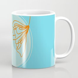 Spring Floral Abstract Coffee Mug