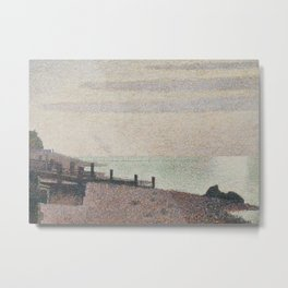 Evening, Honfleur Metal Print