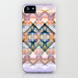 Multi-Colored Abstract Symmetry (Day) iPhone Case