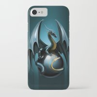 dragon ball iPhone & iPod Cases featuring dragon by Antracit