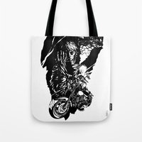 rush Tote Bags featuring Rush. by Ale PBrey