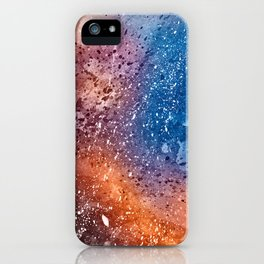 Vibrant Acrylic Texture iPhone Case