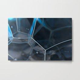 Dusk Bubbles Metal Print