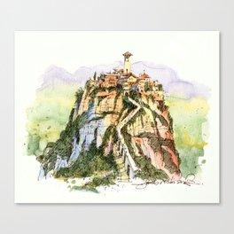 Civita di Bagnoregio, Italy Canvas Print