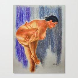 Standing Marichyasana A Canvas Print