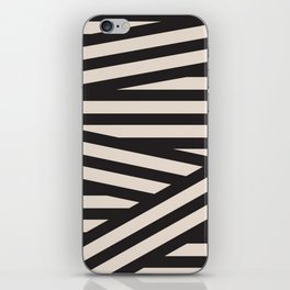 Juve Black and White Stripes iPhone Skin