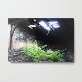 The Attic Metal Print