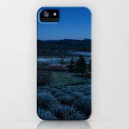 Through the Mountains and Valleys iPhone Case