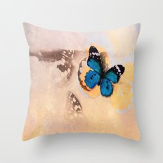 A beautiful stain... Throw Pillow