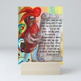 Early Will I Seek Thee Mini Art Print