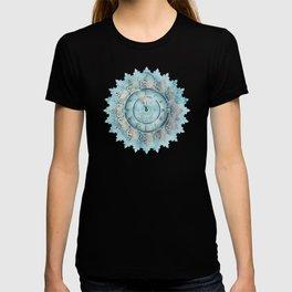 Clock Christmas mandala T-shirt