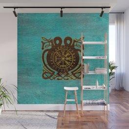 Vegvisir - Viking  Navigation Compass Wall Mural