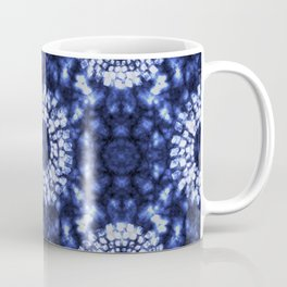 Shibori in Blue Coffee Mug