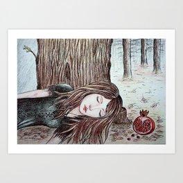 Persephone (Perfect Autumn) Art Print