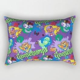 Goosebumps 90's Pattern Rectangular Pillow