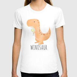 Winosaur | White Wine T-shirt