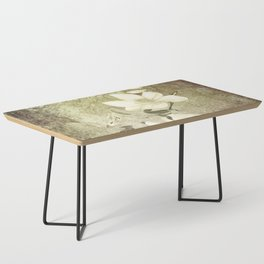 Magnolia Blossoms Textured Coffee Table