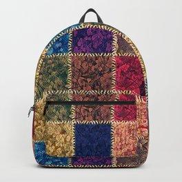 Flap-flops patchwork Backpack
