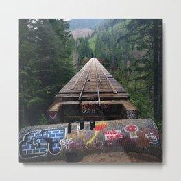 Vance Creek Bridge Metal Print