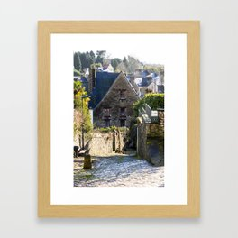 Ruelle in Brittany Framed Art Print