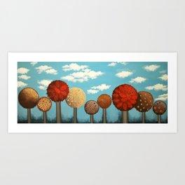 Dream grove Art Print
