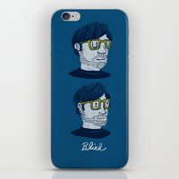 blink 182 iPhone & iPod Skins featuring Blink by Drew Brockington