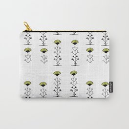 tall green flowers Carry-All Pouch