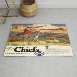 Vintage poster - The Chiefs Rug