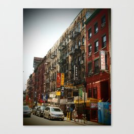 Chinatown NYC Canvas Print