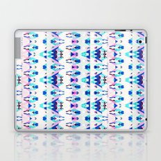 Mountain Ikat in Pink and Blue Laptop & iPad Skin