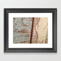 Wood Texture Framed Art Print