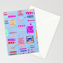 Color Square 10 Stationery Cards