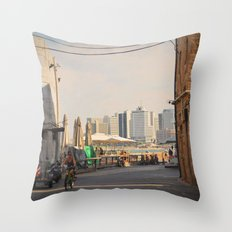 Friday in Jaffa 2 Throw Pillow