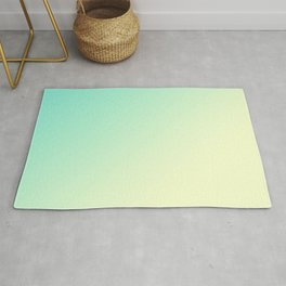 Gradient ombre lime yellow bright summer neon colors Rug