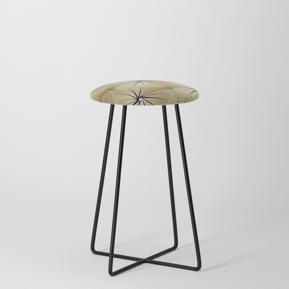 Paper Parasols Counter Stool by Artisimo (CST7740657) photo