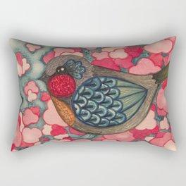 Blossom Birds Rectangular Pillow