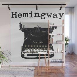 Hemingway Wall Mural