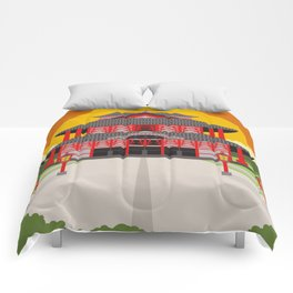 asian chinese temple Comforters