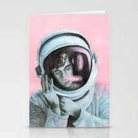 matty healy Stationery Cards featuring ASTRO BOY // MATTY HEALY by Jethro Lacson